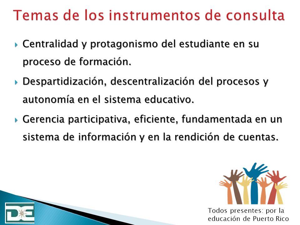 Centralidad y protagonismo del estudiante en su proceso de formación. Centralidad y protagonismo del estudiante en su proceso de formación. Despartidi