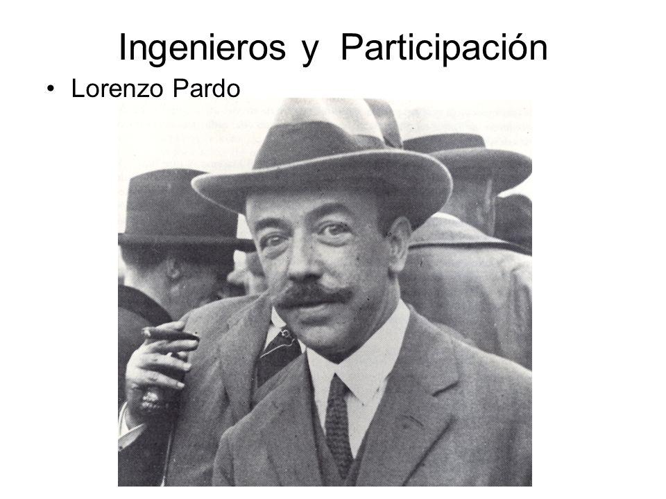 Ingenieros y Participación Lorenzo Pardo