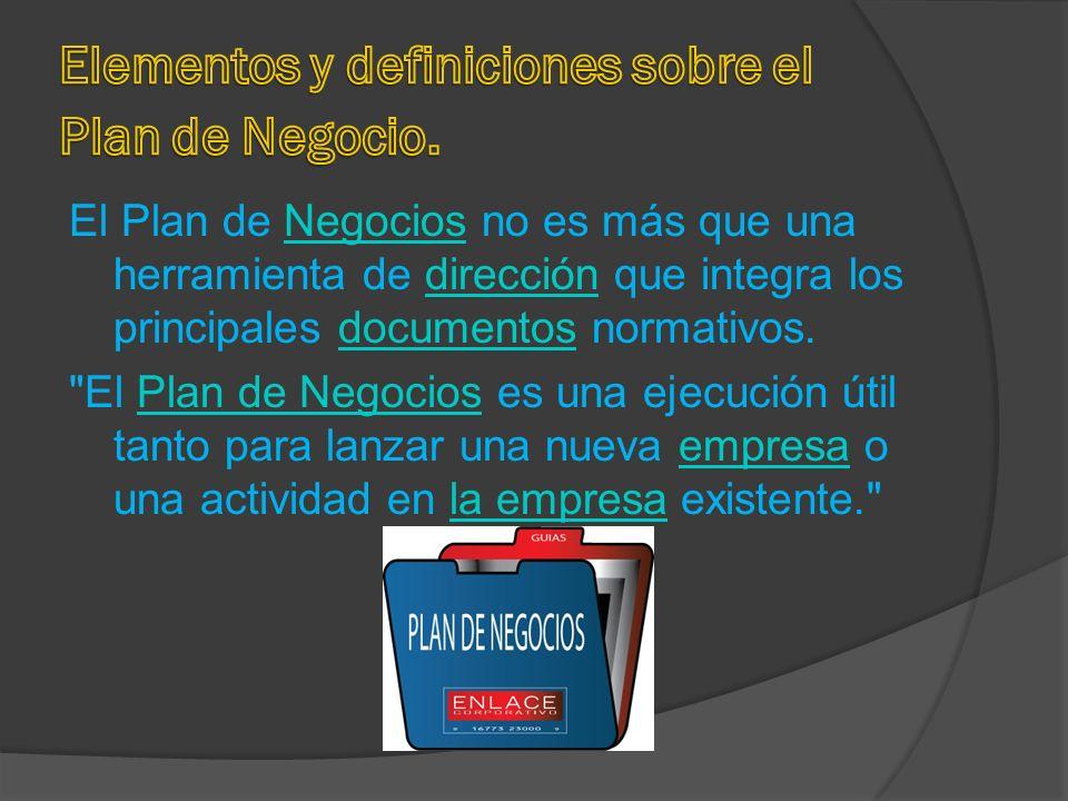 Objetivos del Plan de Negocios : En la Economía de Mercado.EconomíaMercado El Plan de Negocios tiene como objetivo ayuda ha alcanzar un conocimiento a