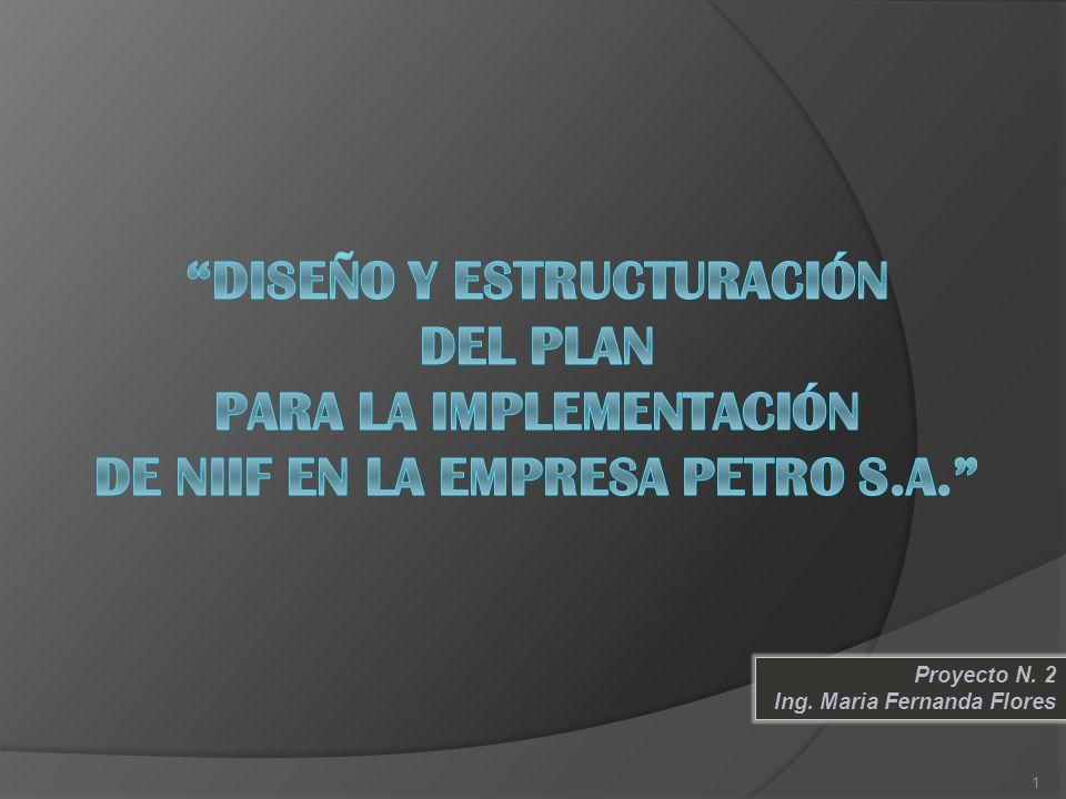 Proyecto N. 2 Ing. Maria Fernanda Flores 1