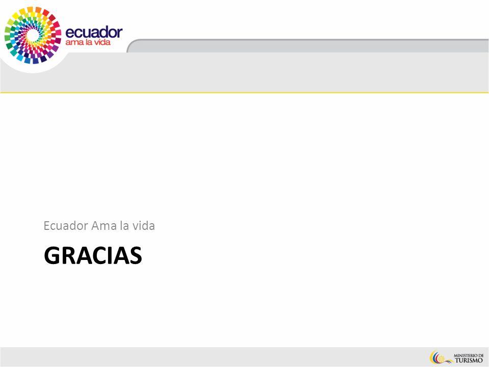 GRACIAS Ecuador Ama la vida