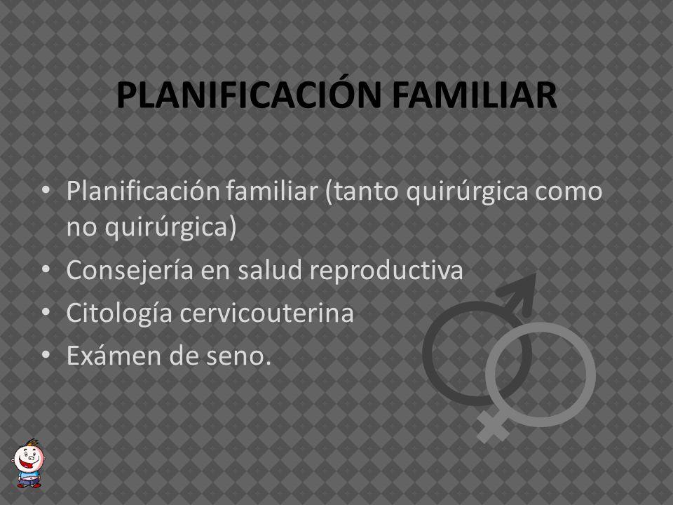 NIÑOS MENORES DE UN (1) AÑO Inmunizaciones PAI Promoción de la lactancia materna Paquete de complementación nutricional Control y atención del niño enfermo (especialmente tratamientos de EDA e IRA).