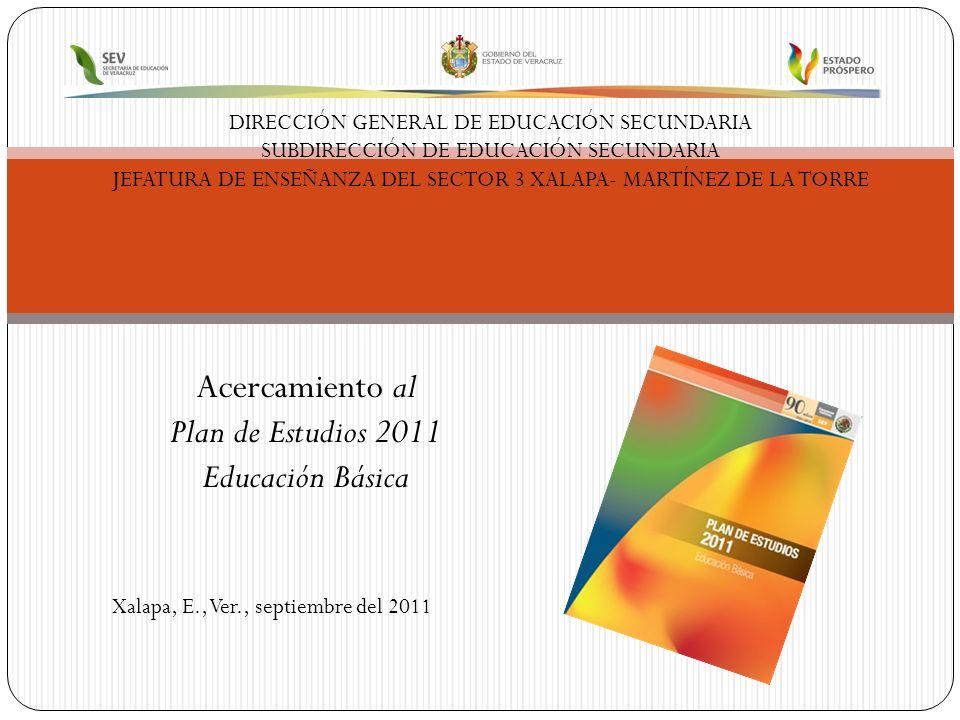 ¿Qué es el Plan de Estudios 2011 Educación Básica.