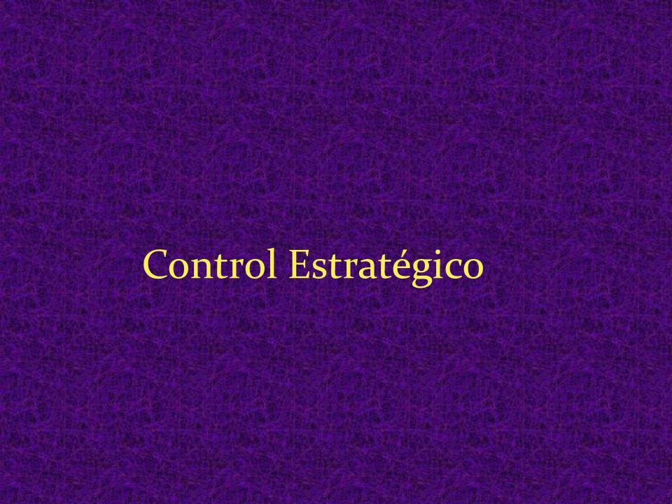Aún cuando el Planeamiento Estratégico no puede existir sin el Control Estratégico, son actividades diferentes y es importante comprenderlo.
