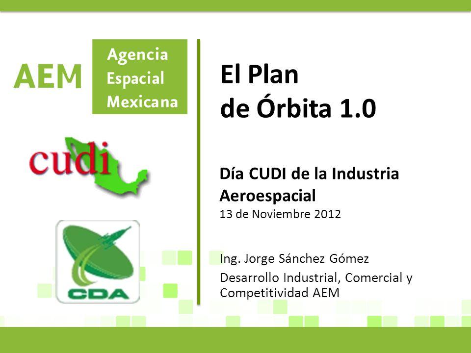 El Plan de Órbita 1.0 Ing.