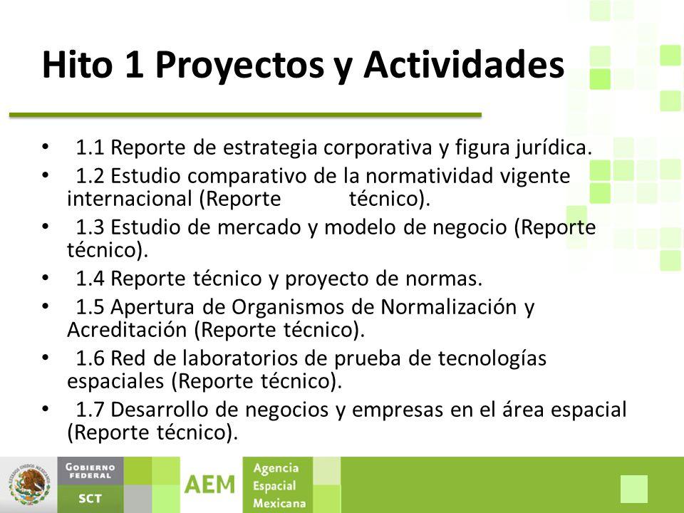 Hito 1 Proyectos y Actividades 1.1 Reporte de estrategia corporativa y figura jurídica.
