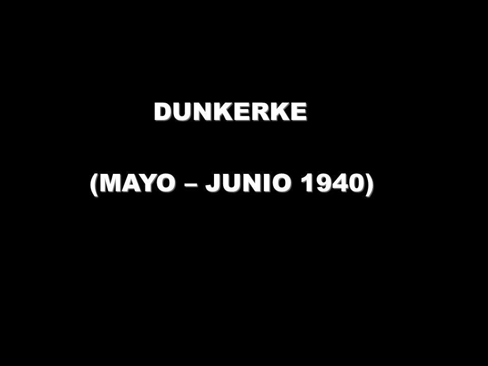DUNKERKE (MAYO – JUNIO 1940)
