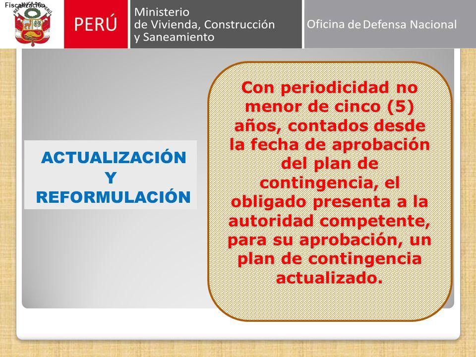 APROBACIÓN Previa opinión favorable de la entidad competente del SINADECI, por la autoridad que corresponde a la actividad que desarrolla la entidad.