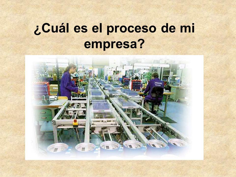 ¿Cuál es el proceso de mi empresa?