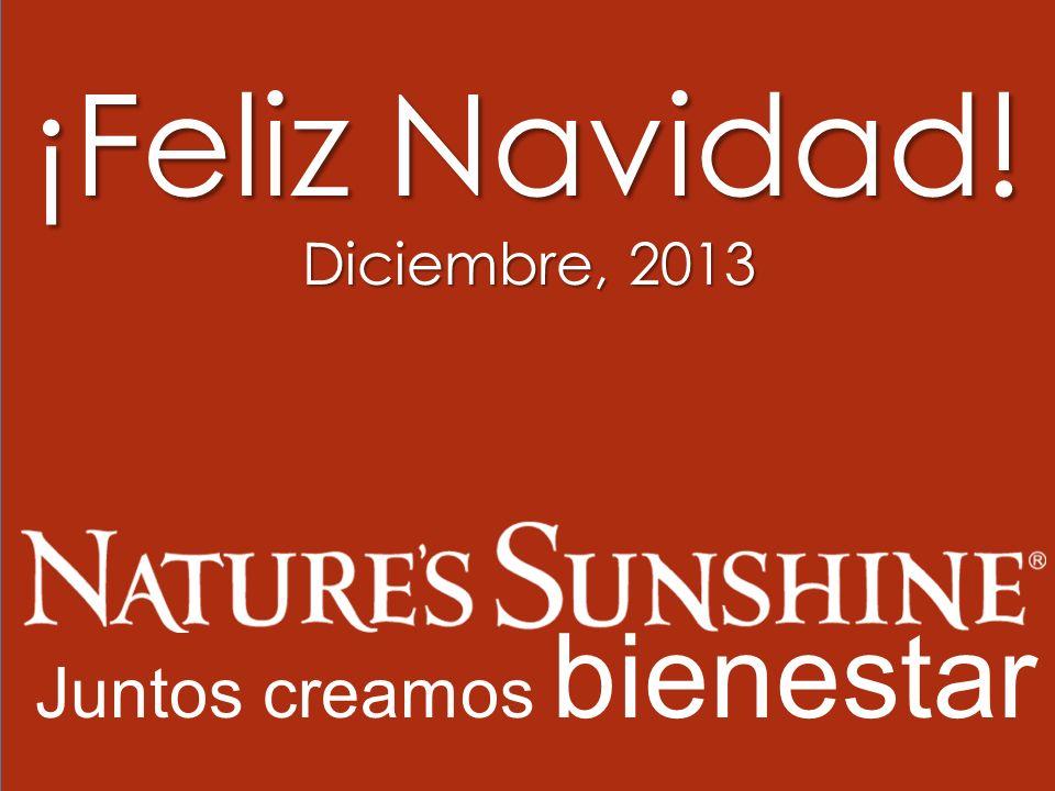¡Feliz Navidad! Diciembre, 2013 Juntos creamos bienestar