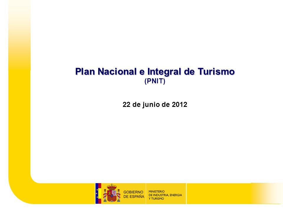 ÍNDICE 1.El Turismo, motor de salida de la crisis en España 2.Hoja de ruta en colaboración con el sector 3.El Turismo, sector estratégico 4.Diagnóstico 5.Pilares del Plan 6.¿Por qué es diferente a otros planes.