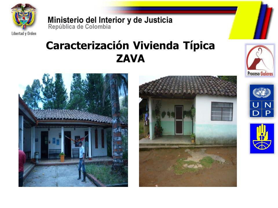 Caracterización Vivienda Típica ZAVA