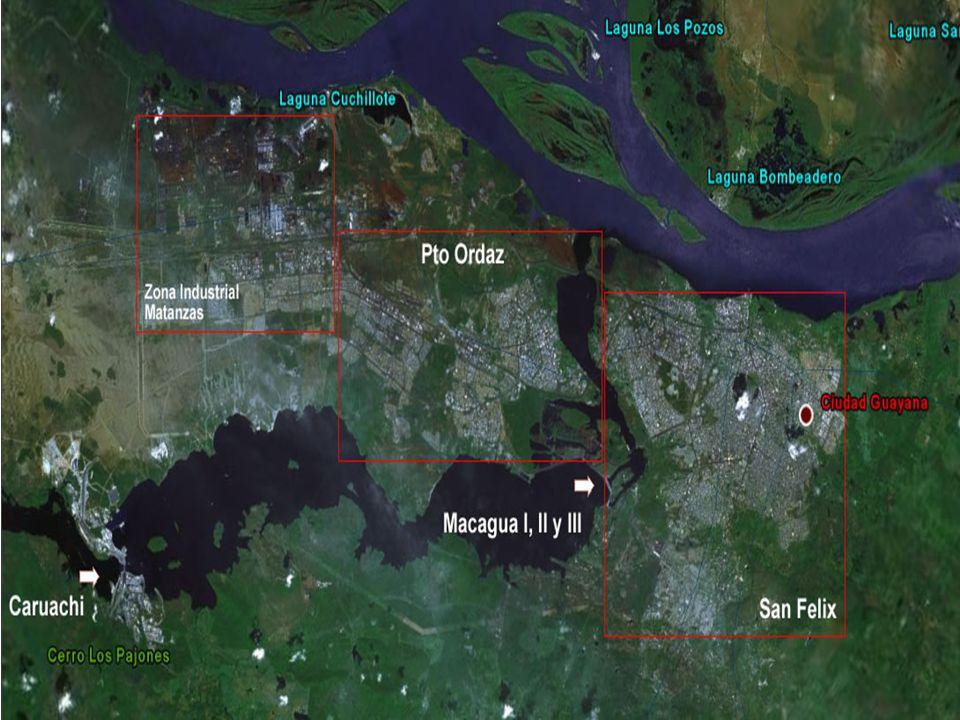 EJECUCIÓN DEL PLAN GUAYANA 1980 – 1990 Paralización de la inversión entre 1979 y 1983 y deterioro de la calidad de vida en la ciudad.