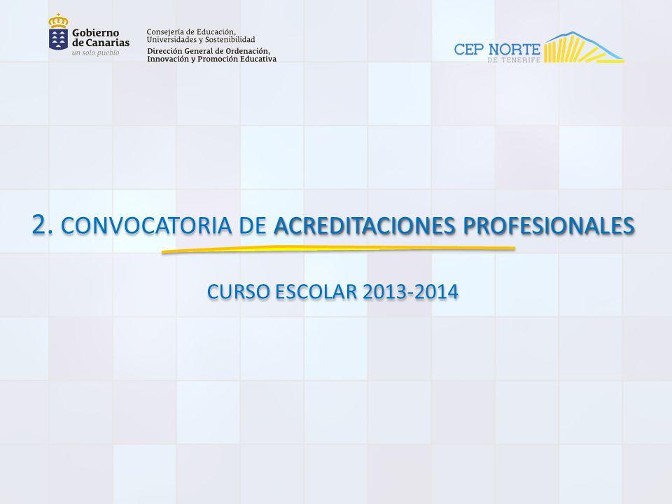 ACREDITACIONES PROFESIONALES 2.