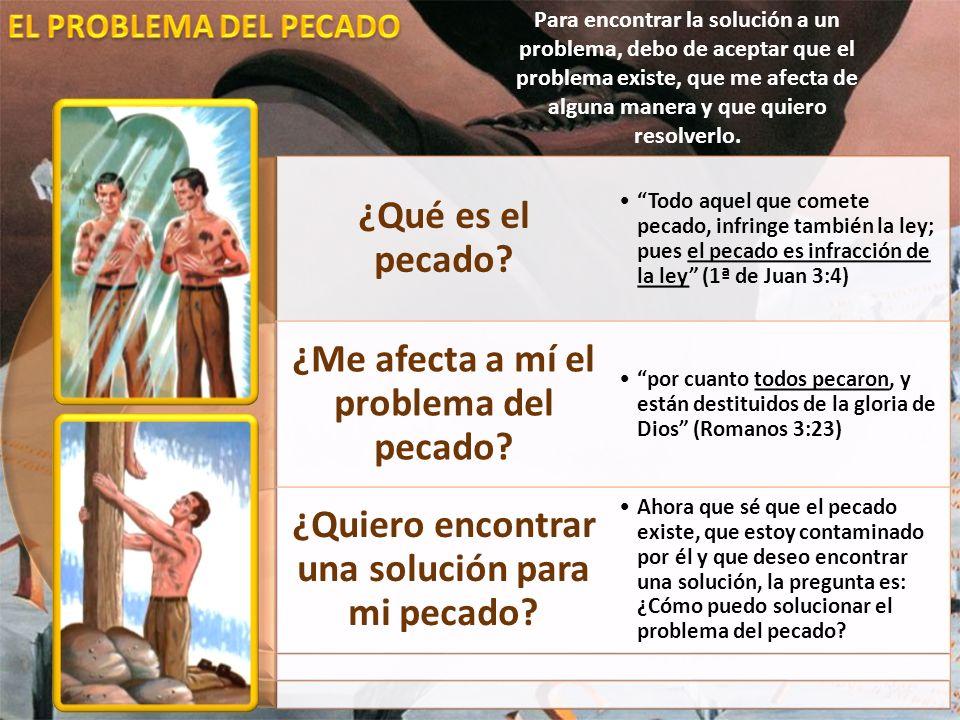 ¿Qué es el pecado? ¿Me afecta a mí el problema del pecado? ¿Quiero encontrar una solución para mi pecado? Todo aquel que comete pecado, infringe tambi