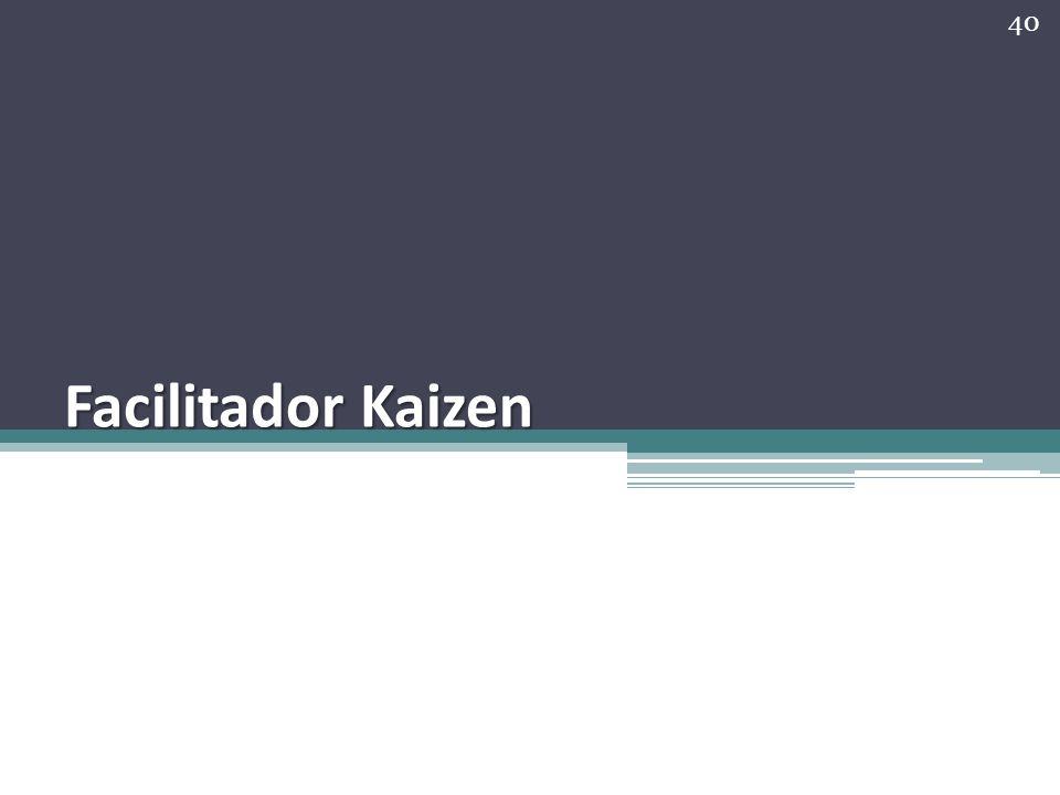 Facilitador Kaizen 40