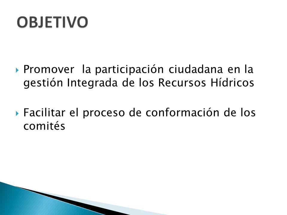 Este reglamento es aplicable a nivel nacional para la conformación de los Comité de las cuencas Hidrográficas e hidrogeológicas Nacionales.