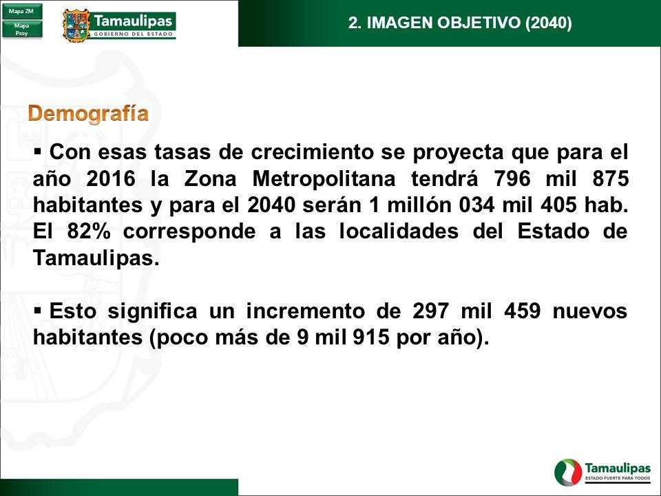 Zona Metropolitana Tampico: Requerimientos de Vivienda para el periodo 2016 – 2040.