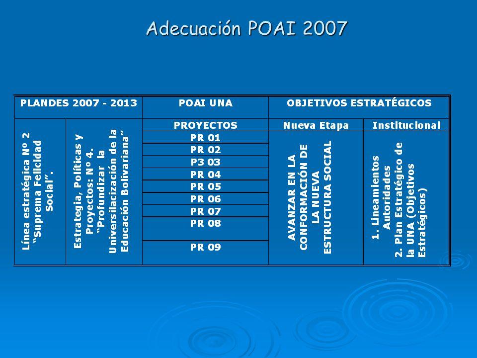Adecuación POAI 2007