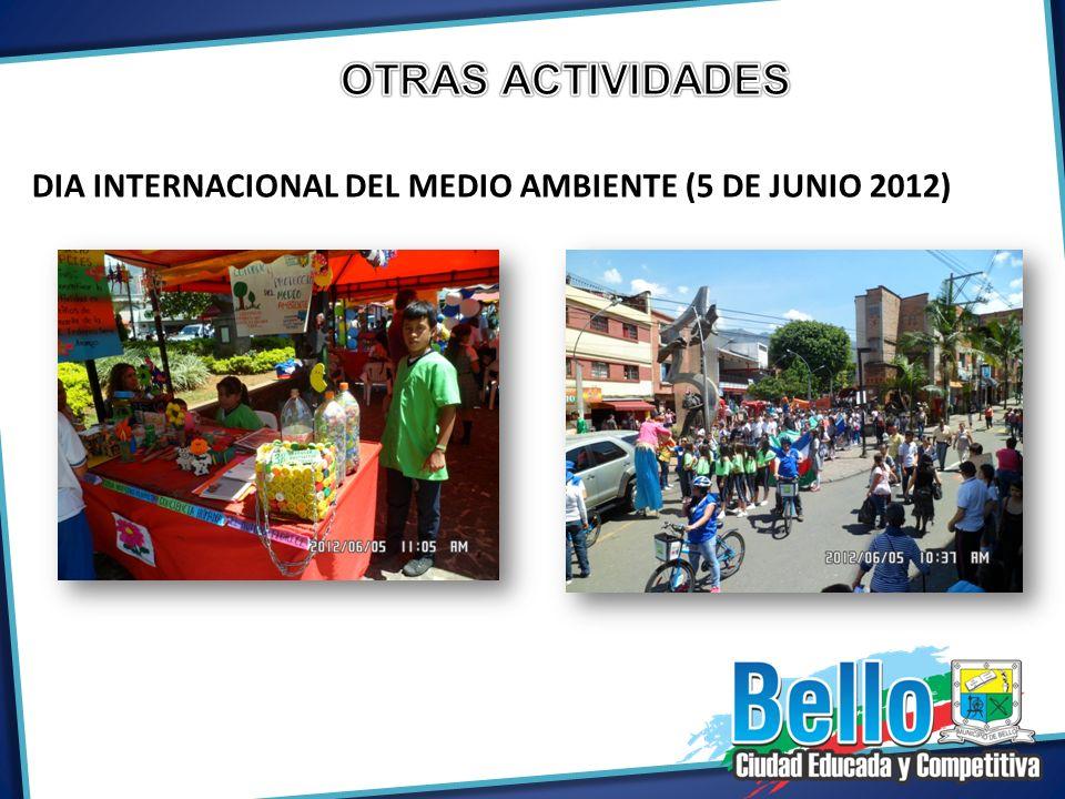 DIA INTERNACIONAL DEL MEDIO AMBIENTE (5 DE JUNIO 2012)