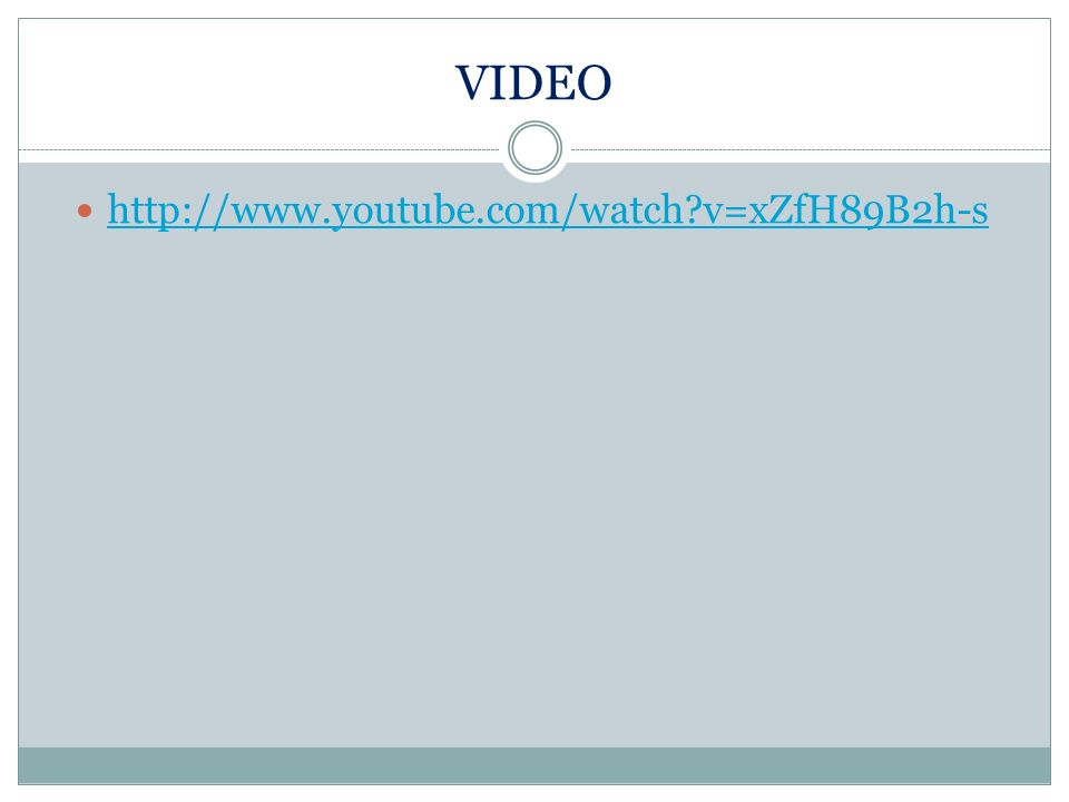 VIDEO http://www.youtube.com/watch?v=zmIwg9_Sv2w& feature=related