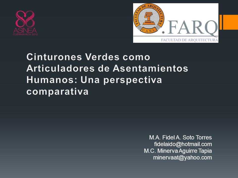 M.A. Fidel A. Soto Torres fidelaido@hotmail.com M.C. Minerva Aguirre Tapia minervaat@yahoo.com