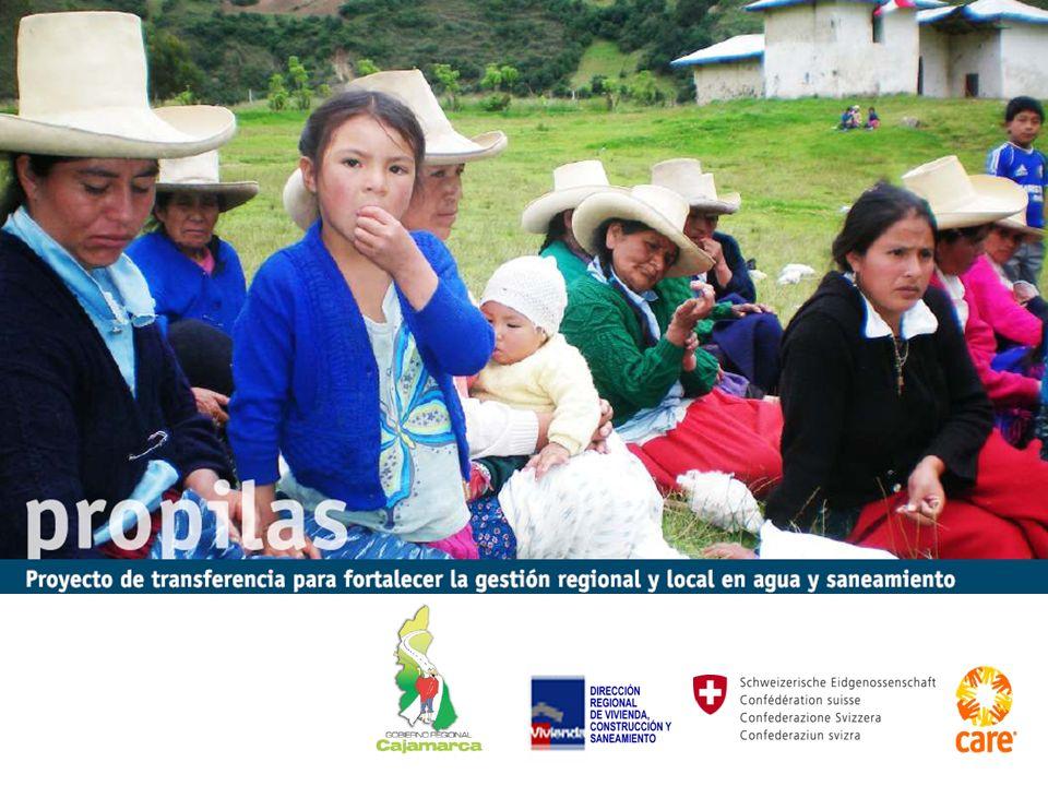 Intervención del PROPILAS Fase III (2002 - 2005) Liderazgo y gestión eficiente de los servicios de A&S de Gobiernos Locales (distrital y provincial), que permitieron generar condiciones de sostenibilidad e impacto de las intervenciones.