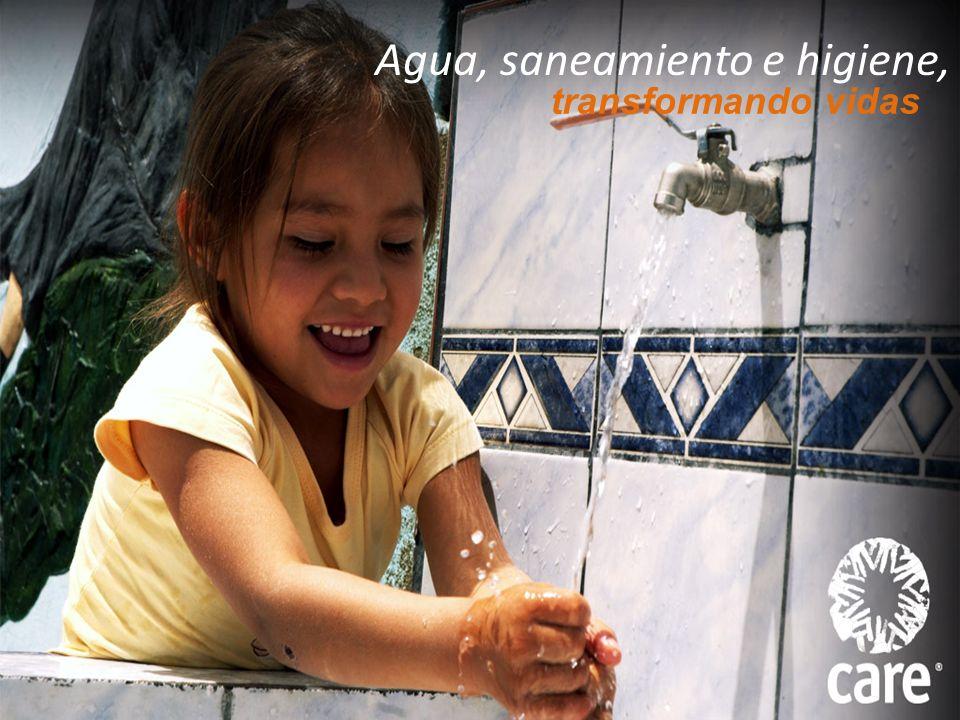 Agua, saneamiento e higiene, transformando vidas