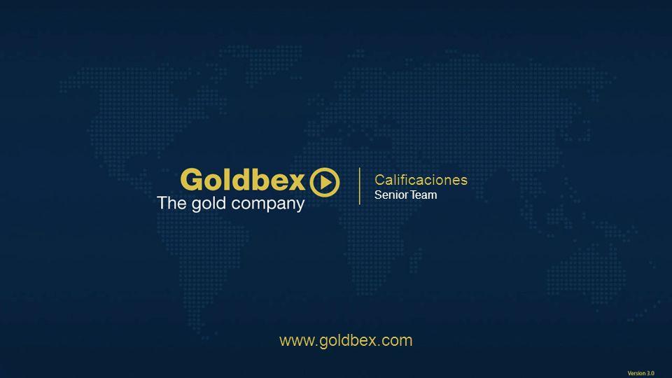 Calificaciones Senior Team www.goldbex.com