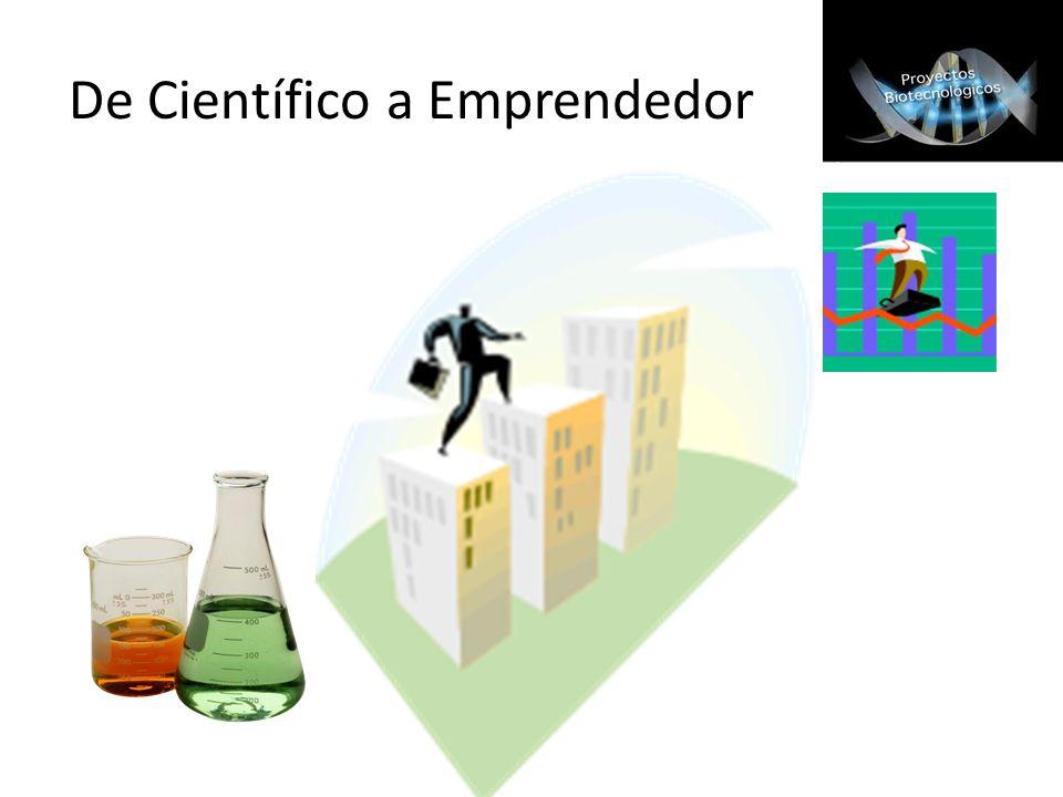 De Científico a Emprendedor