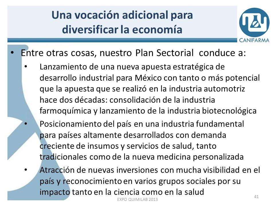 Programa de Desarrollo de la Industria Farmacéutica Uniendo esfuerzos por México