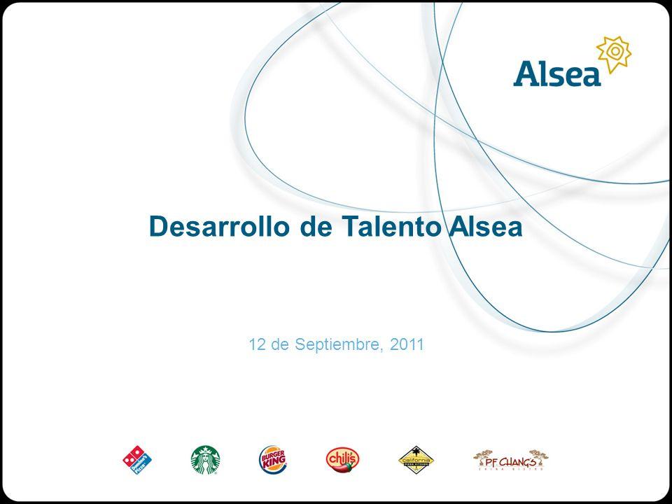 Desarrollo de Talento Alsea 12 de Septiembre, 2011