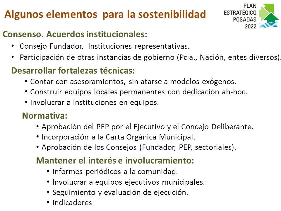 Consenso. Acuerdos institucionales: Consejo Fundador.