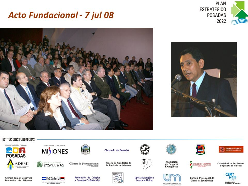 Acto Fundacional - 7 jul 08