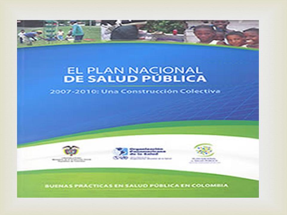 Ministerio de la Protección Social Decreto número 3039 de 2007 (10 de agosto de 2007) Por el cual se adopta el Plan Nacional de Salud Pública 2007-2010
