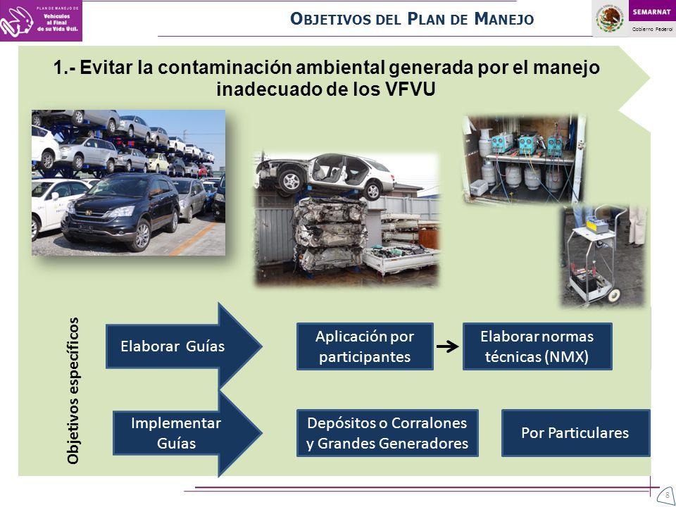 Gobierno Federal ¿Qué requisitos debe cumplir el establecimiento de un desmantelador o un triturador.