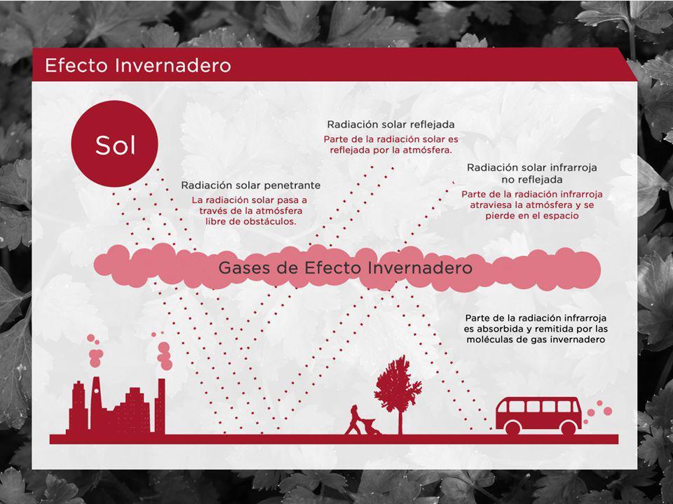 Generación del efecto invernadero 5