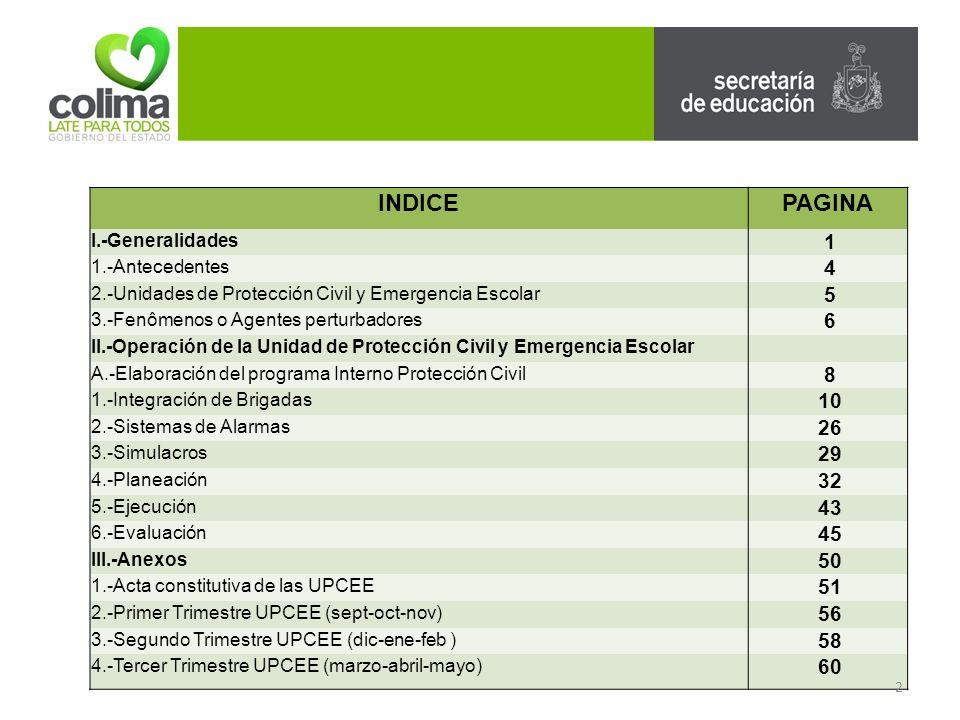 1.2.-BRIGADA DE COMUNICACIÓN -Informa oportunamente a la comunidad educativa sobre las medidas de prevención, de auxilio y recuperación que la unidad de emergencia escolar haya contemplado.