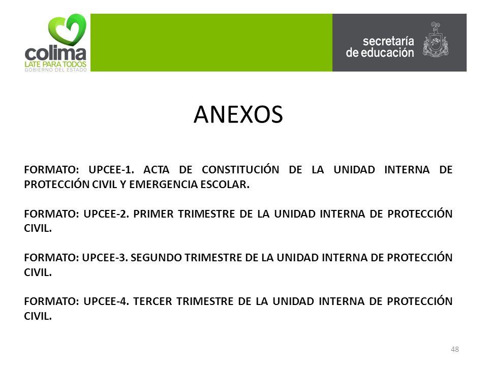 48 ANEXOS FORMATO: UPCEE-1.