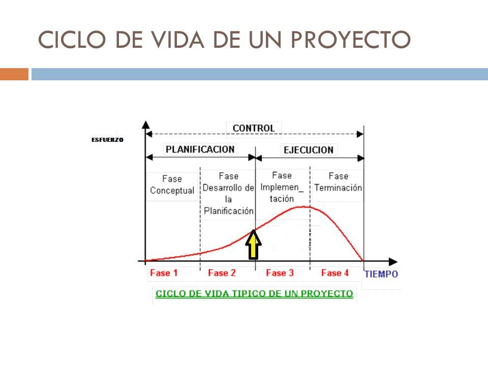 TERMINACION DEL PROYECTO Comienza cuando todo el trabajo del proyecto se ha completado y es aceptado por el cliente.