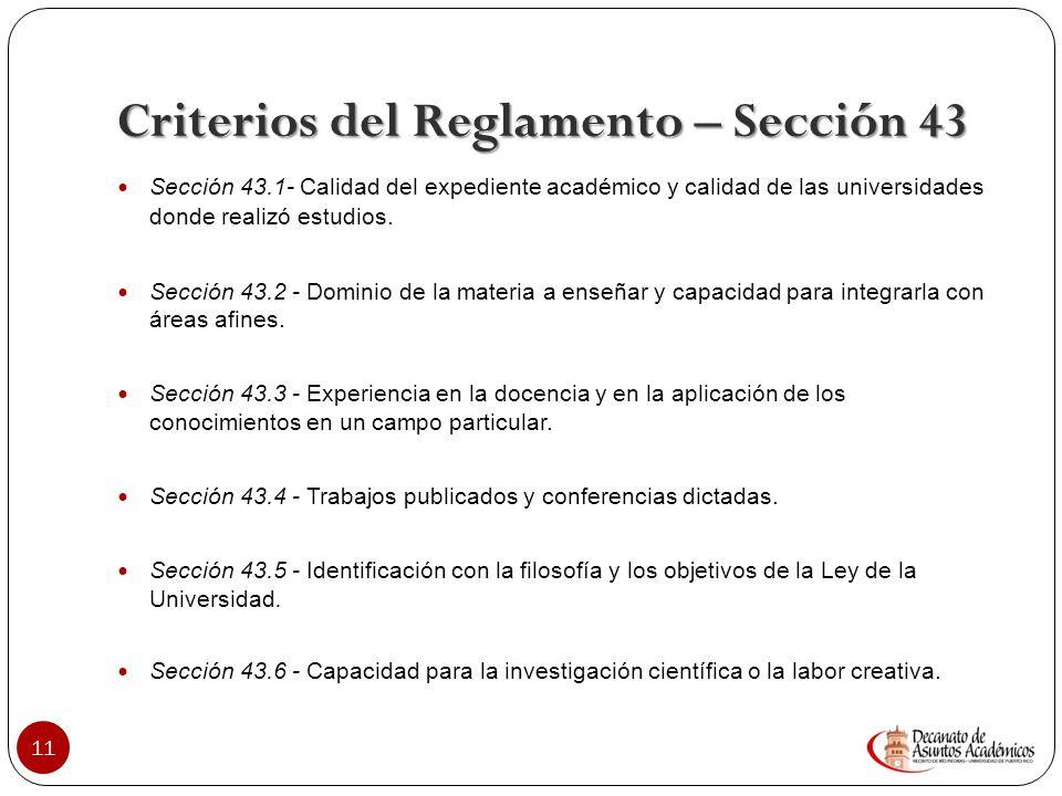 Convocatoria: fundamentada en el Plan de desarrollo 10 Convocatoria requisitos mínimos DAA aprueba. Circular 3, 2003-2004 DAA Circular 3, 2003-2004 DA