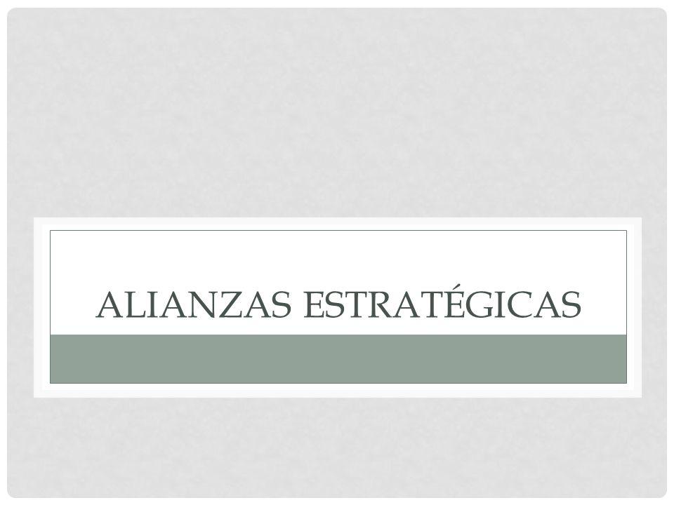 ALIANZAS ESTRATÉGICAS