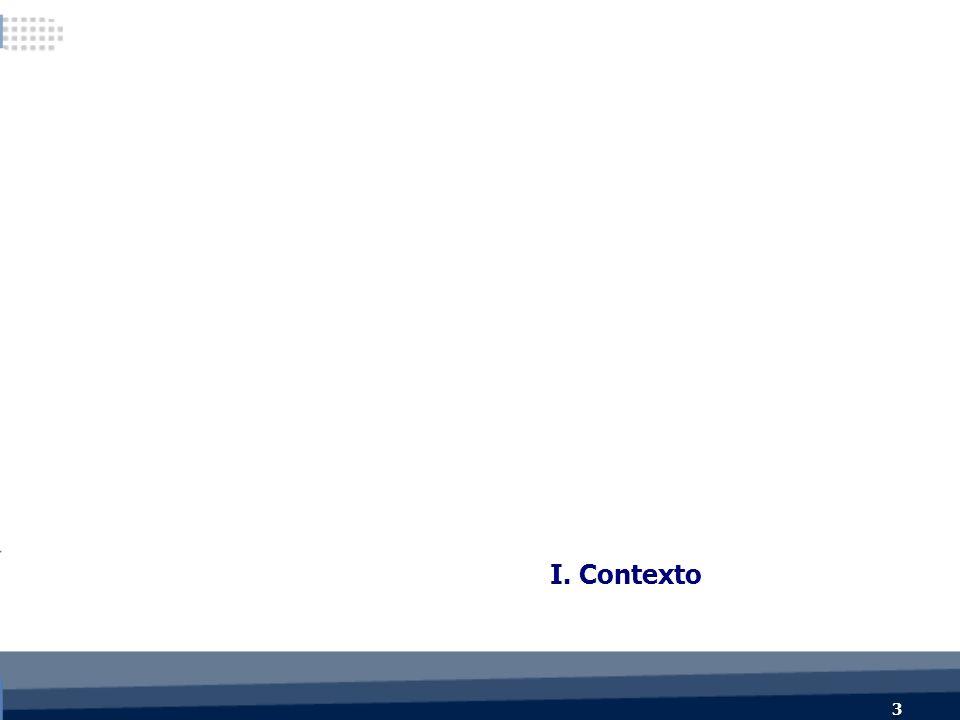 3 3 I. Contexto