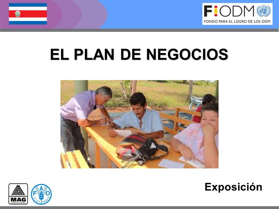 Exposición EL PLAN DE NEGOCIOS