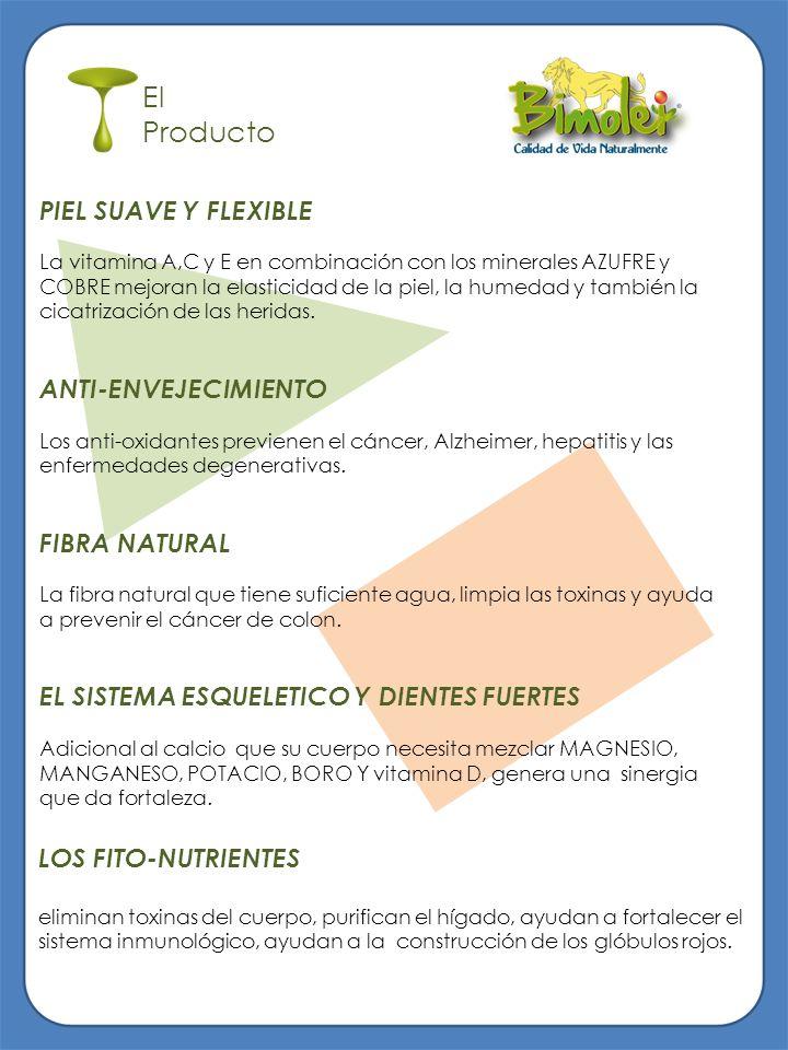 El Producto LOS FITO-NUTRIENTES eliminan toxinas del cuerpo, purifican el hígado, ayudan a fortalecer el sistema inmunológico, ayudan a la construcció