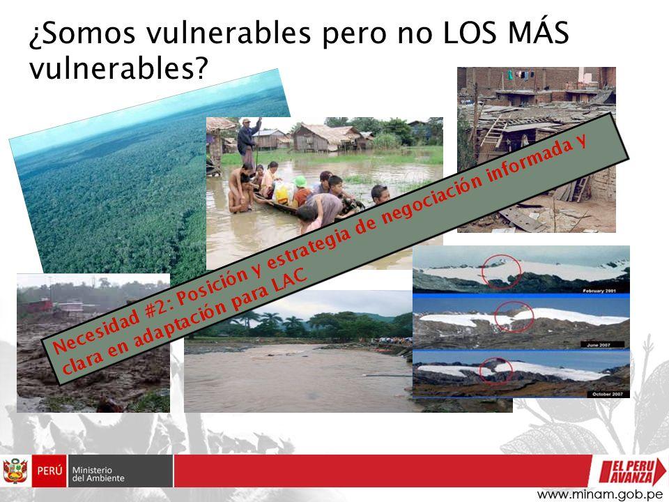 ¿Somos vulnerables pero no LOS MÁS vulnerables?