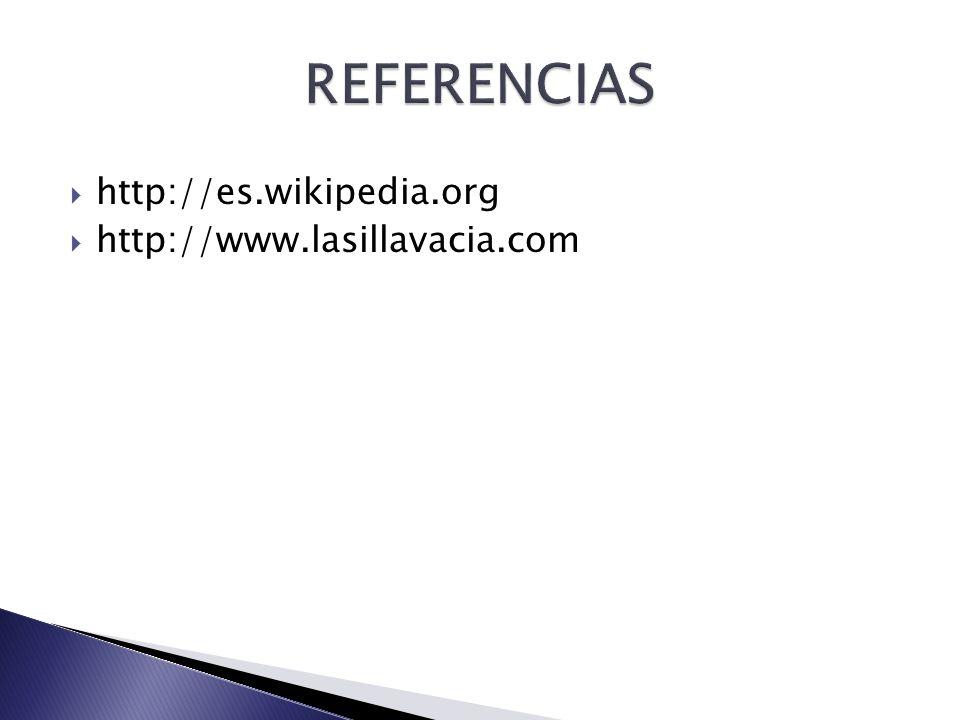 http://es.wikipedia.org http://www.lasillavacia.com