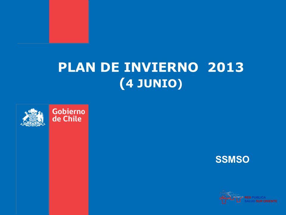 PLAN DE INVIERNO 2013 ( 4 JUNIO) SSMSO