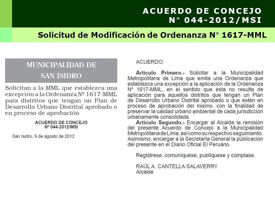 Observaciones y recomendaciones TRES PALMERAS S.A. Calle Los Olivos N° 0371