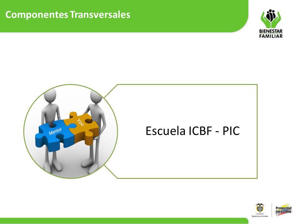 Componentes Transversales 11 Escuela ICBF - PIC